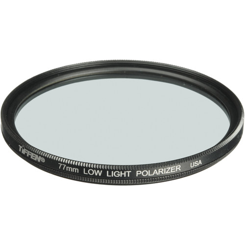 "Tiffen 4 x 5.65"" Low Light Polarizing Glass Filter"