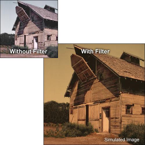 "Tiffen 4 x 5.65"" 2 Sepia Solid Color Filter"