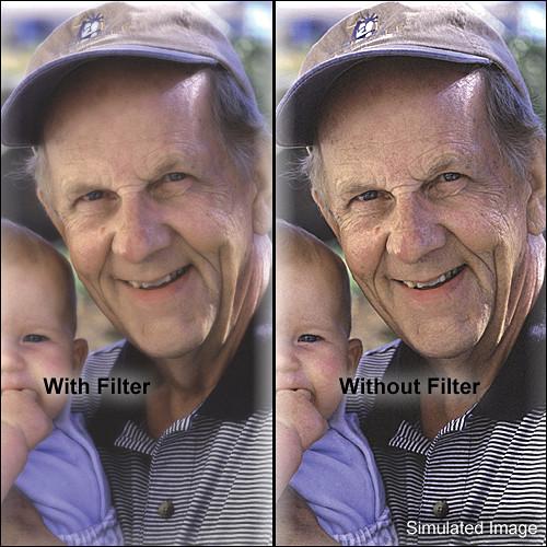 "Tiffen 4 x 5.65"" Softnet Black 3 Filter"