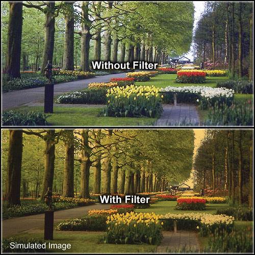 "Tiffen 4 x 5.65"" 2 Tangerine Solid Color Filter"