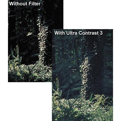 "Tiffen 4 x 5.65"" Ultra Contrast 1/4 Filter"