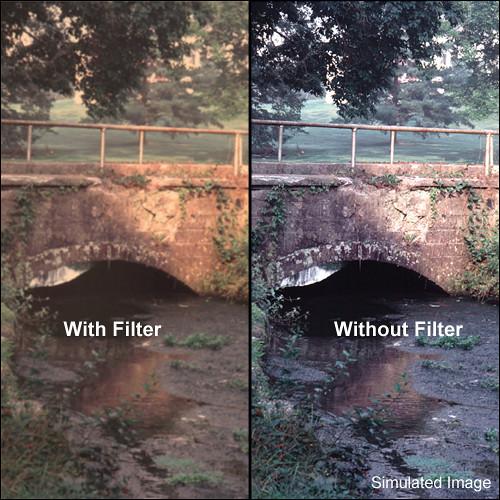"Tiffen 4 x 5.65"" Warm Pro-Mist 1/2 Filter"