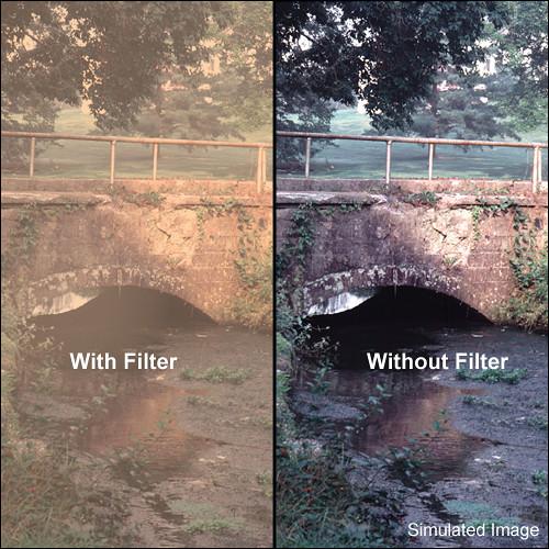 "Tiffen 4 x 5.65"" Warm Pro-Mist 4 Filter"