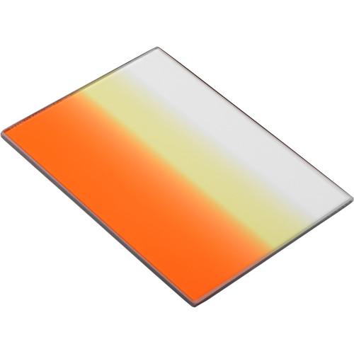 "Tiffen 4 x 5.65"" Graduated Sunset 1 Filter  (Horizontal Orientation)"