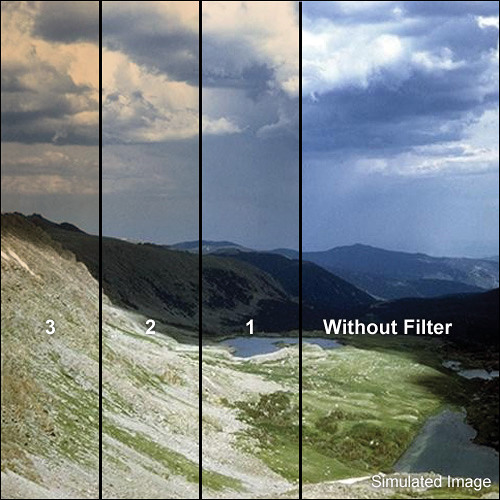 "Tiffen 4 x 5.65"" 3 Chocolate Hard-Edge Graduated Filter (Horizontal Orientation)"