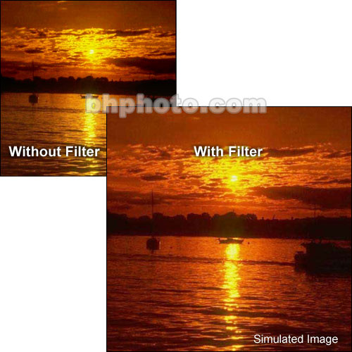 """Tiffen 4 x 5.65"""" Complement Red 1 Filter"""