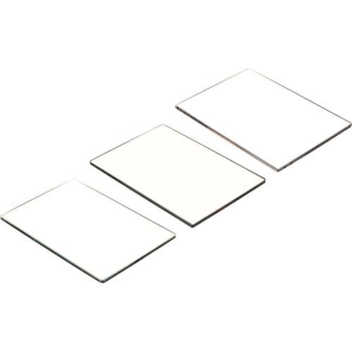 """Tiffen 4 x 5.6""""  (4mm thick) Digital Video  Film Look Kit 3 - Digital Diffusion F/X1, Soft F/X1 and Black ProMist 1/2 Filters"""