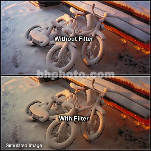"Tiffen 4 x 5.65"" 1 Tobacco Hard-Edge Graduated Filter (Horizontal Orientation)"