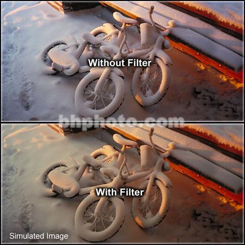 "Tiffen 4 x 5.65"" 1 Tobacco Soft-Edge Graduated Filter (Vertical Orientation)"