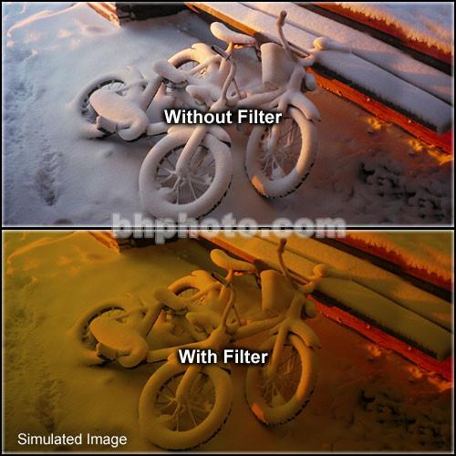 "Tiffen 4 x 5.65"" 3 Tobacco Soft-Edge Graduated Filter (Vertical Orientation)"