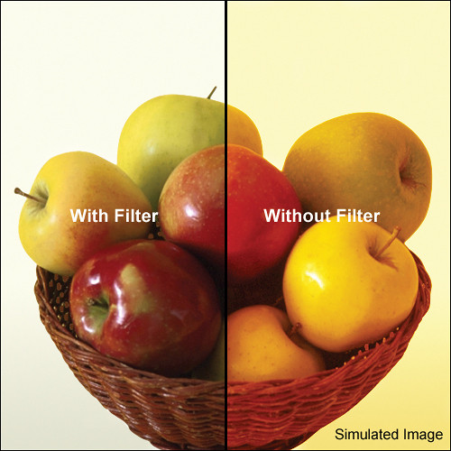 "Tiffen 4 x 5"" 80A Color Conversion Filter"