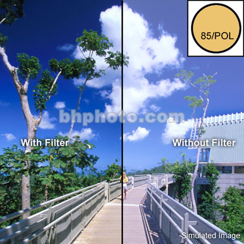 "Tiffen 4 x 5"" 85 Ultra Pol Linear Polarizer Filter"