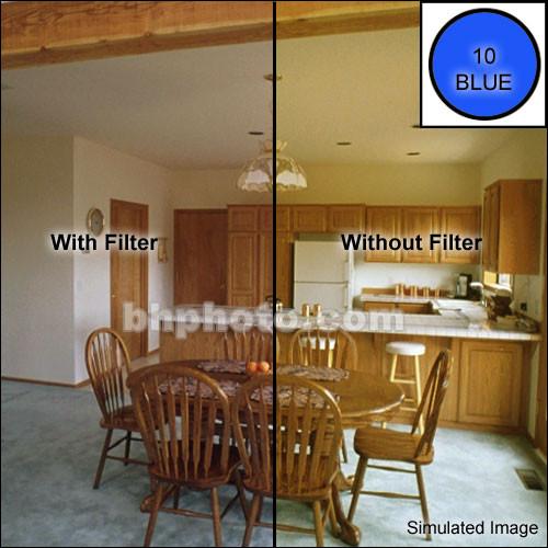 """Tiffen 4 x 5"""" CC10B Blue Filter"""