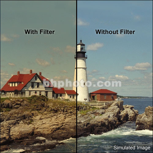 "Tiffen 4 x 5"" 4 Coral Solid Color Filter"