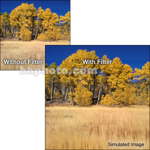 "Tiffen 4 x 5"" Complement Amber 1 Filter"