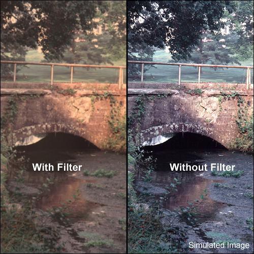 "Tiffen 4 x 5"" Warm Pro-Mist 1/8 Filter"