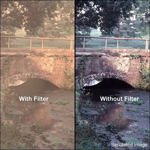 "Tiffen 4 x 5"" Warm Pro-Mist 4 Filter"