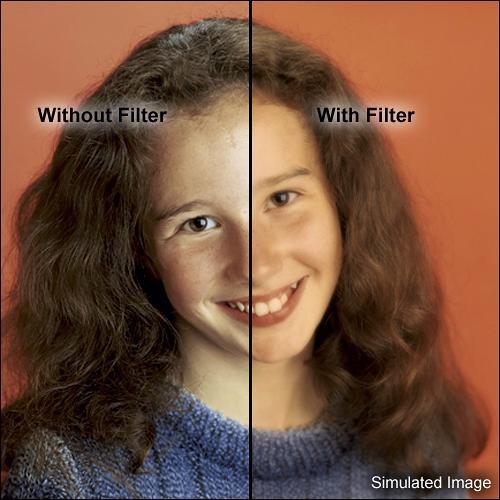 """Tiffen 4 x 5"""" Warm Soft/FX 1 Filter"""