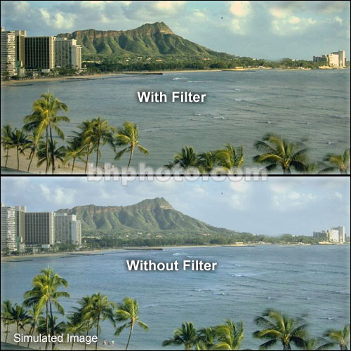 "Tiffen 4 x 5"" Warm UV 17 Filter"