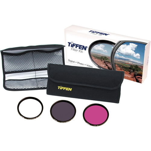 Tiffen Deluxe 3 Video Intro Filter Kit (46mm)