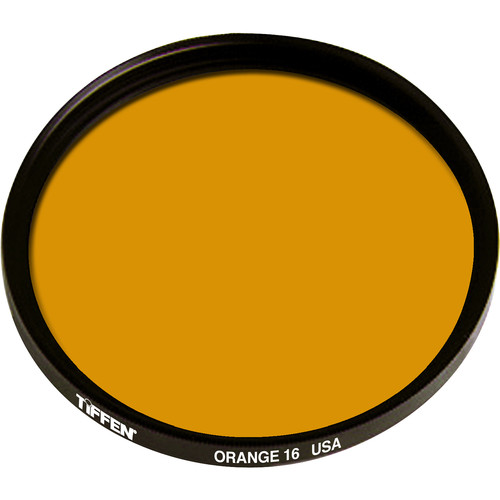 Tiffen 49mm Orange #16 Glass Filter for Black & White Film