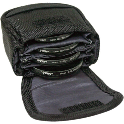 Tiffen Belt Filter Pouch, Small for 4 Filters up to 58mm