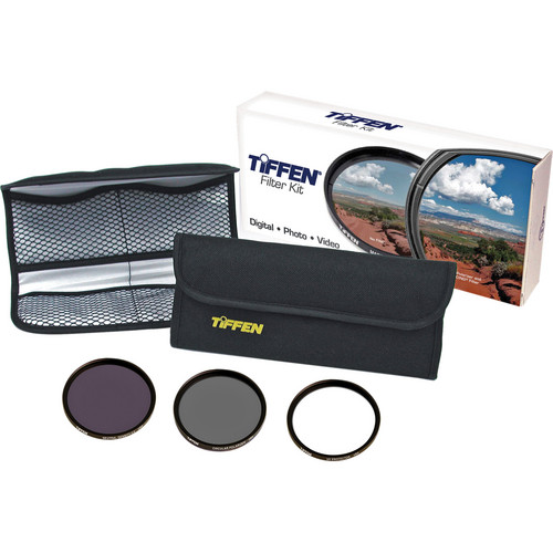 Tiffen 55mm Digital Essentials Filter Kit