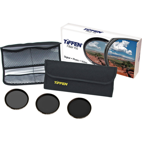 Tiffen 55mm Digital Neutral Density Filter Kit