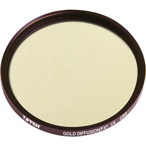 Tiffen 55mm Gold Diffusion/FX 1/4 Filter