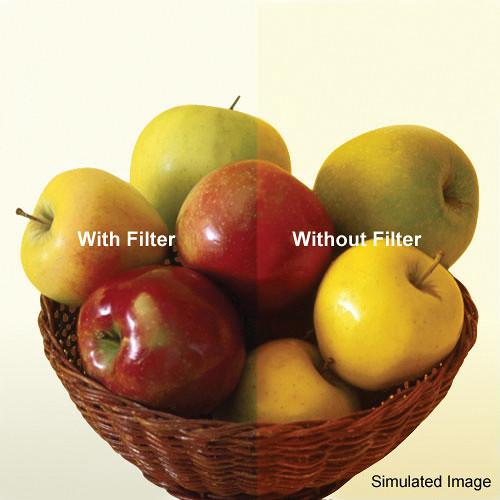 """Tiffen 5.65 x 5.65"""" 80C Color Conversion Filter"""
