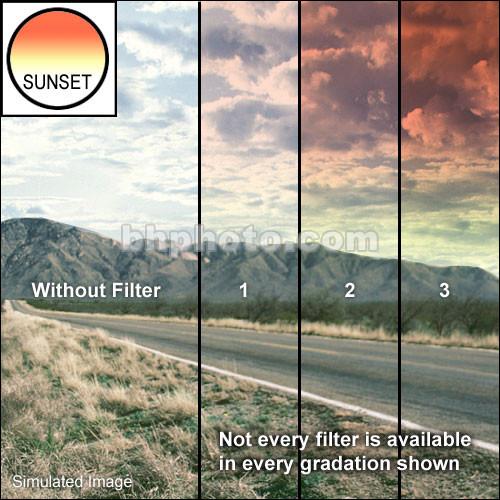 "Tiffen 5.65 x 5.65"" Graduated Sunset 2 Filter"