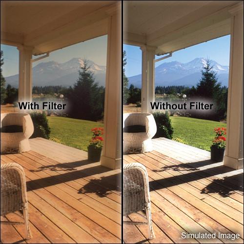 """Tiffen 5.65 x 5.65"""" Warm Black Pro-Mist 2 Filter"""