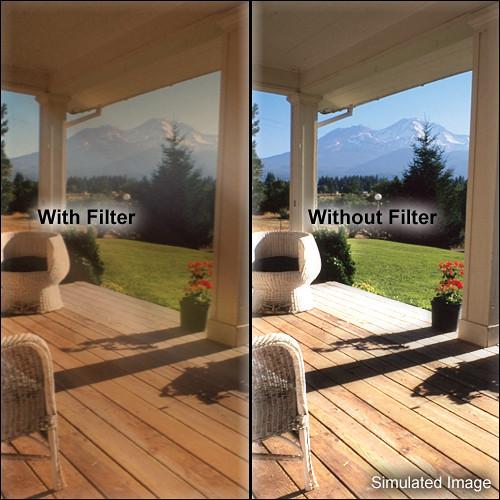 """Tiffen 5.65 x 5.65"""" Warm Black Pro-Mist 4 Filter"""