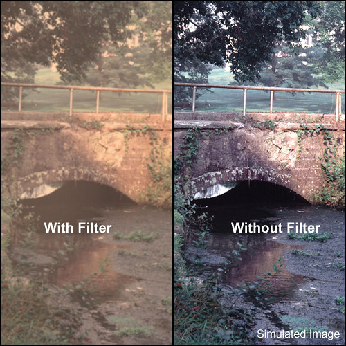 "Tiffen 5.65 x 5.65"" Warm Pro-Mist 3 Filter"