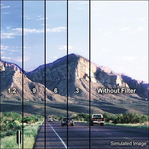 "Tiffen 5.65 x 5.65"" Soft Edge Graduated 1.2 ND Filter"