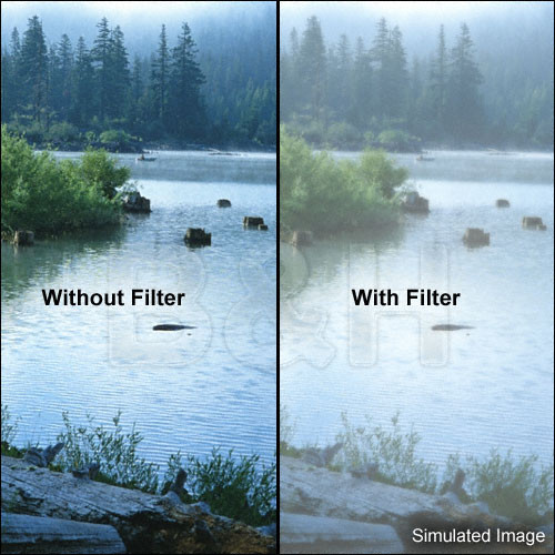 "Tiffen 5.65 x 5.65"" Double Fog 1 Filter"