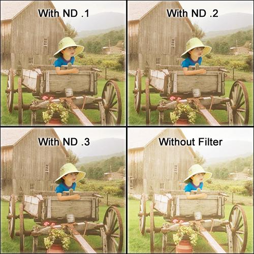 "Tiffen 5.65 x 5.65"" ND 0.1 Filter (0.3-Stop)"