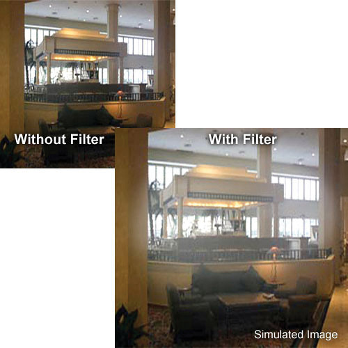"Tiffen 5.65 x 5.65"" Smoque 4 Filter"