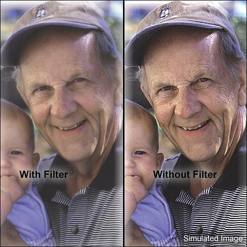 "Tiffen 5.65 x 5.65"" Softnet White 1 Filter"