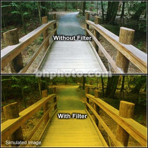 "Tiffen 5 x 6"" 3 Straw Soft-Edge Graduated Filter (Horizontal Orientation)"
