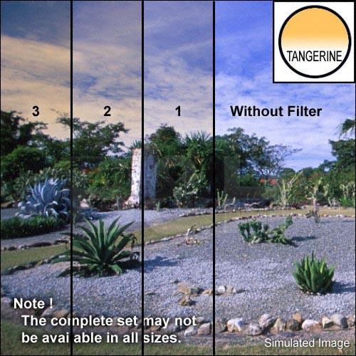"Tiffen 5 x 6"" 3 Tangerine Soft-Edge Graduated Filter (Vertical Orientation)"