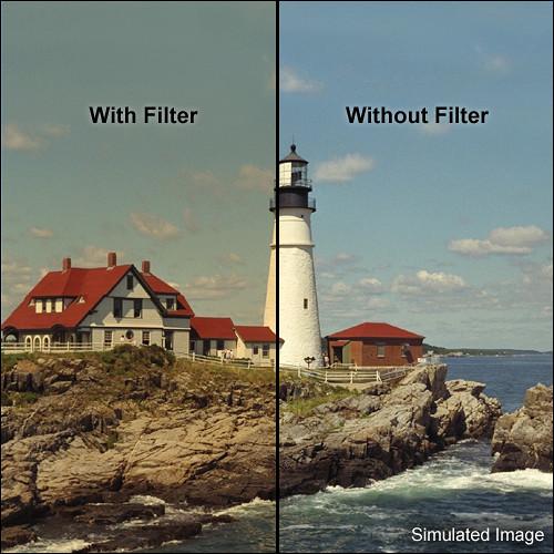 "Tiffen 5 x 6"" 4 Coral Solid Color Filter"