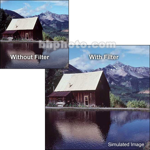 "Tiffen 5 x 6"" Complement Blue 1 Filter"