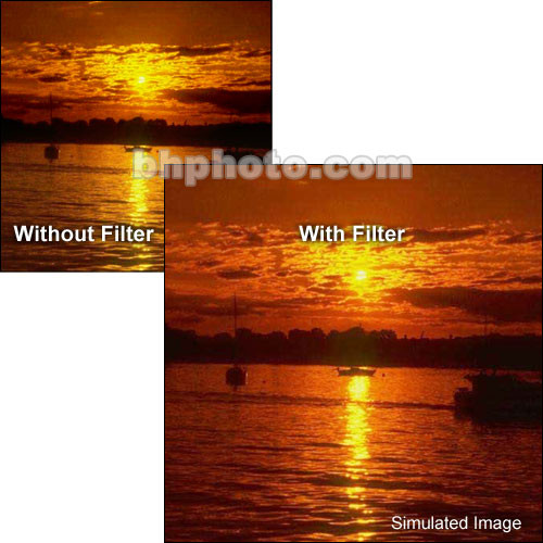 """Tiffen 5 x 6"""" Complement Red 2 Filter"""