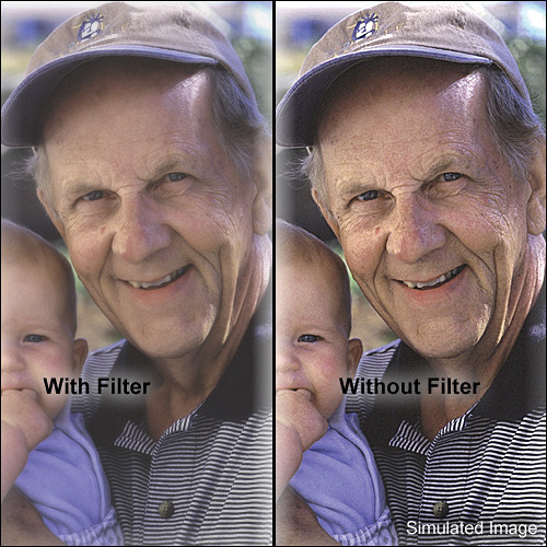 "Tiffen 5 x 6"" Softnet White 1 Filter"