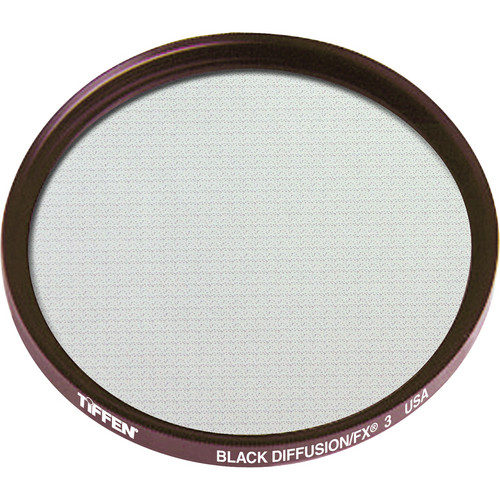 Tiffen 58mm Black Diffusion/FX 3 Filter