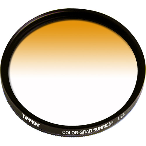 Tiffen 58mm Graduated Sunrise  Filter