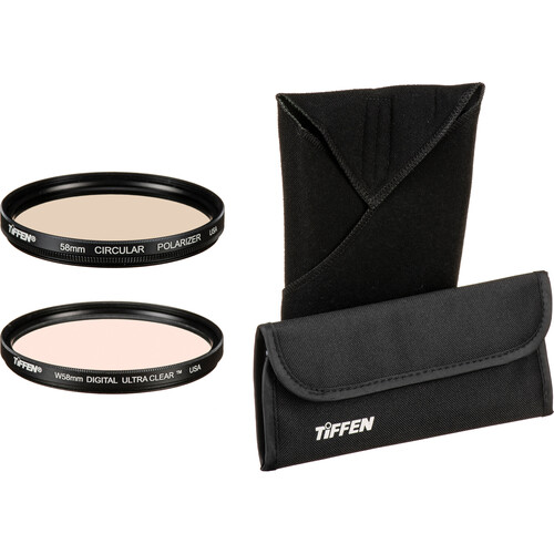 Tiffen 58mm Protection Filter Kit
