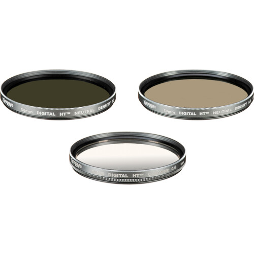 Tiffen 58mm Digital HT Neutral Density Filter Kit