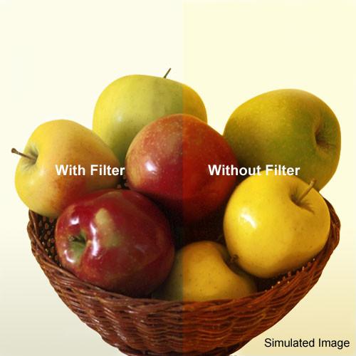 """Tiffen 5 x 5"""" 80C Color Conversion Filter"""